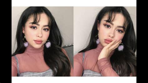 korean inspired   hair tutorial youtube
