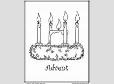 Advent Coloring Pages GetColoringPagescom