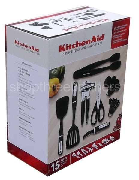 kitchenaid  piece kitchen utensil tools set