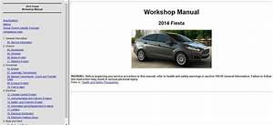 2014 Ford Fiesta Service Repair Manual     Wiring Diagram    In 2020