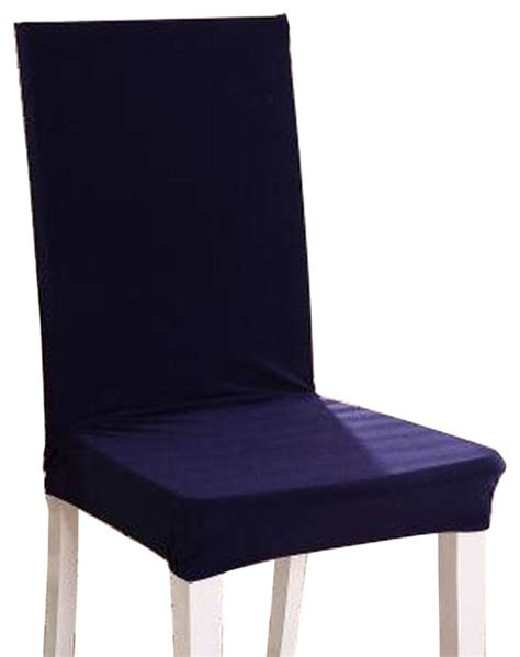 navy dining chair cushions shop houzz blancho bedding navy simple style dining