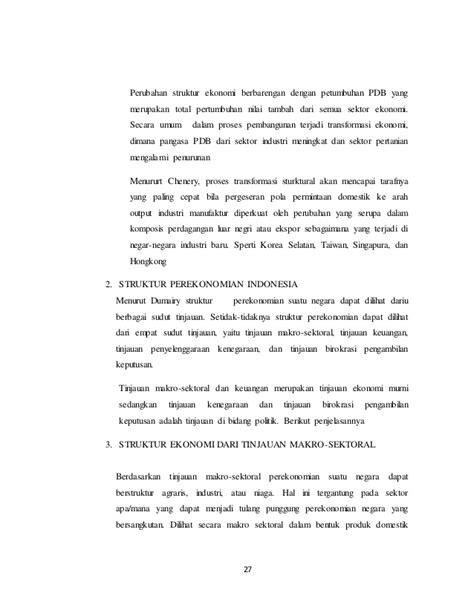 RESUME PEREKONOMIAN INDONESIA
