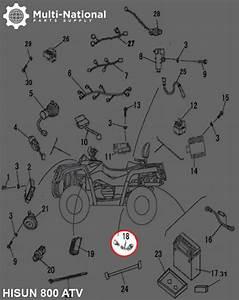 Speed Sensor - Hisun  800cc  Atv  Utv