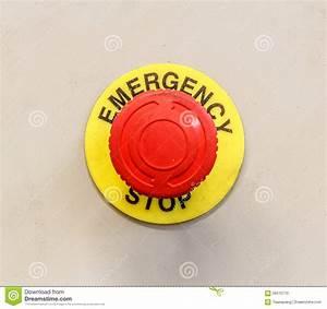 Bouton Arret D Urgence : bouton d 39 arr t d 39 urgence photo stock image 56515715 ~ Nature-et-papiers.com Idées de Décoration