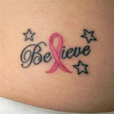 cute breast cancer tattoo designs images  pictures