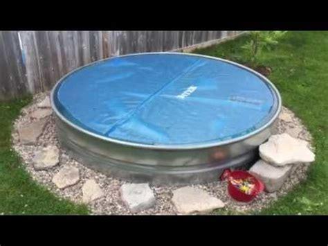 stock tank pool youtube