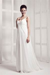 15 chic floor length wedding dresses for the perfect With wedding dresses floor length