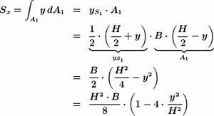 Statische Moment Berechnen : statisches moment bez glich der x achse beim rechteck ~ Themetempest.com Abrechnung
