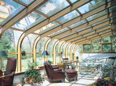 curved eave wood glass roof design mysunroom