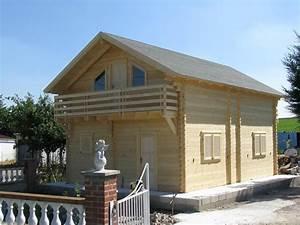 Chalet Bois Kit : chalet habitable en kit 96 m en bois en kit avec mezzanine ~ Carolinahurricanesstore.com Idées de Décoration