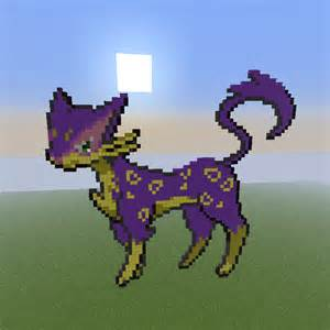 Minecraft Pixel Art Pokemon