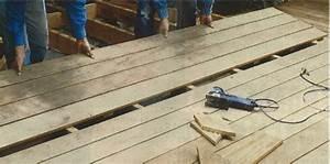 Pose Lame De Terrasse Composite Sans Lambourde : cr er une terrasse en bois ~ Premium-room.com Idées de Décoration