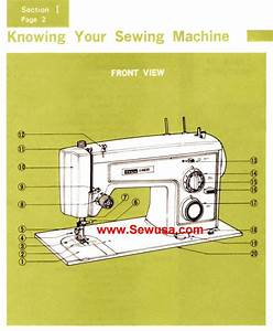 Kenmore Model 1430 Instruction Manual