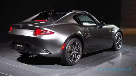 Mazda's Miata Rf Is A Porsche Targa On A Budget, And That