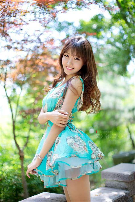 Jo In Young Outdoor Cute Girl Asian Girl Korean Girl Japanese Girl Chinese Girl