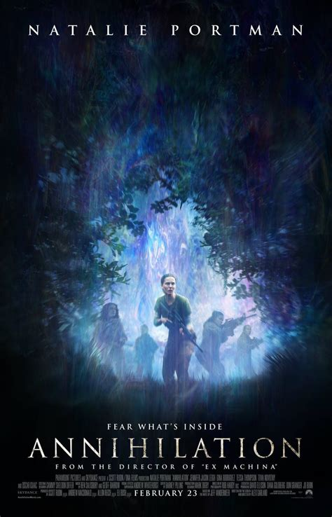 Fear What's Inside This New Annihilation Poster
