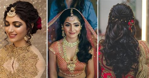 Wedding Hairstyles Indian : 5 Absolutely Stunning Bridal Hairstyles To Go With A