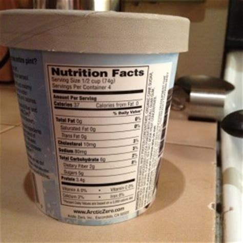arctic  ice cream review healthy hungry  happy
