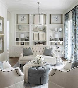 12, Lovely, White, Living, Room, Furniture, Ideas