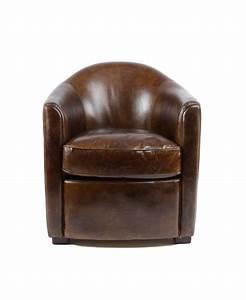 Fauteuil Cuir Marron Vintage : windsor un fauteuil club cuir marron vintage ~ Teatrodelosmanantiales.com Idées de Décoration