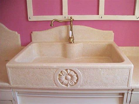 lavello in pietra lavello da cucina in pietra decorata idfdesign