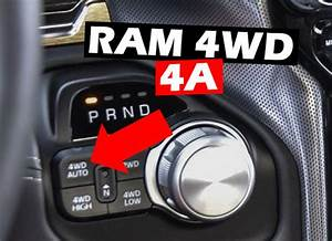 When To Use 4wd Auto Ram 1500  U2013 4a Guidelines