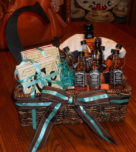 whiskey gift basket  cole complete  homemade