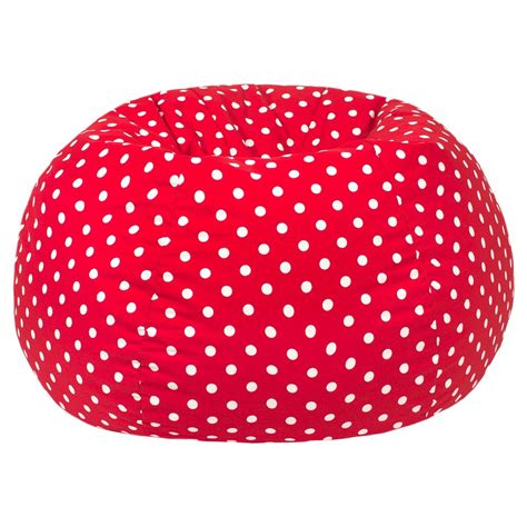 bean bag chair gold medal polka dot bean bag chair