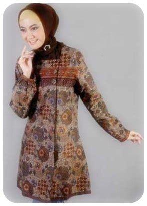 koleksi model baju batik muslim ciamik