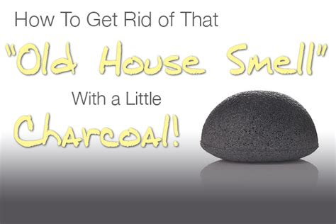 how to get rid of that house smell with charcoal