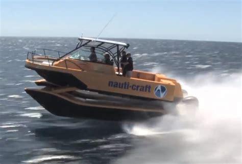Catamaran Boat Suspension by Nauti Craft Catamaran Suspension System To Get Aussie