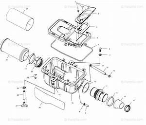 Polaris Atv 2001 Oem Parts Diagram For Air Box
