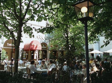 streetscapes  outdoor cafe  berlin germany