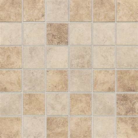 home depot tiles daltile rio mesa desert sand 12 in x 12 in x 6 mm ceramic mosaic tile rm1022cc1p2 the home depot