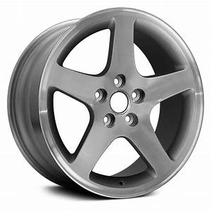 """Replace® - Ford Mustang 2001 17"""" Remanufactured 5 Spokes Factory Alloy Wheel"""