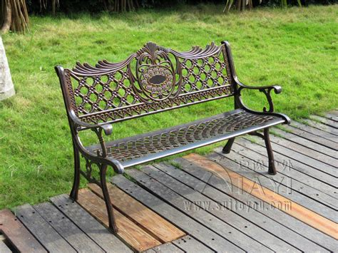 51 quot patio garden bench park yard outdoor furniture cast