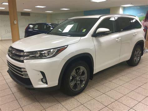 Toyota 2019 Toyota Highlander Black Colors  2019 Toyota