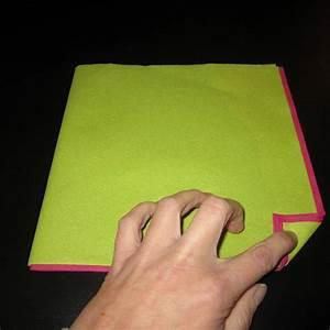 Pliage En Papier : pliage serviette fleur oiseau du paradis choutambouilletout ~ Melissatoandfro.com Idées de Décoration