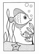 Coloring Ocean Sea Pages Printable Under Fish Drawing Beach Print Animal Summer Sheets Animals Easy Need Allfreekidscrafts Colouring Waves Preschool sketch template