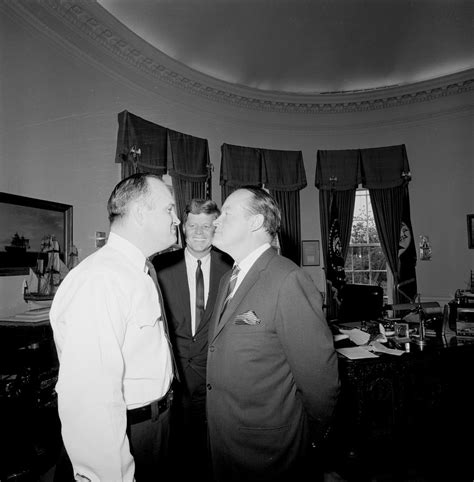 st 412 1 63 president f kennedy with entertainer bob and white house