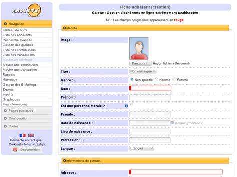 calendrier bureau gestion des adhérents documentation galette 0 9