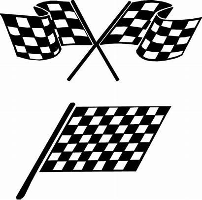 Checkered Flag Clip Wavy Nascar Flags Graphic