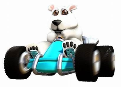 Crash Racing Team Polar Ctr Boost Deviantart