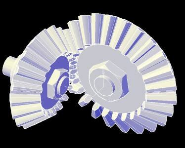 conical gear  autocad  cad   kb