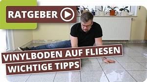 Fliese Auf Fliese Kleben : vinylboden auf fliesen verlegen wie breit und tief darf ~ A.2002-acura-tl-radio.info Haus und Dekorationen