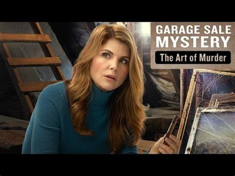 Garage Sale Art of Murder Mysteries