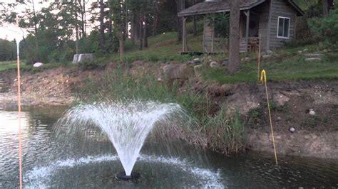 best ponds homemade farm pond fountain crazy homemade