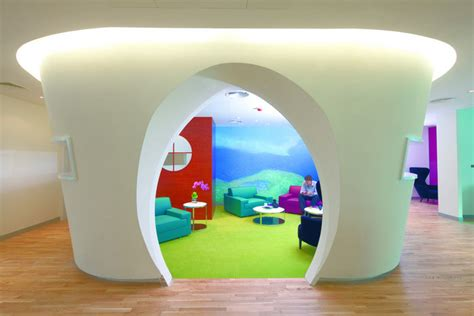 zains colorful bahrain headquarters offices office
