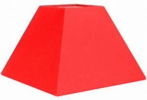 Abat Jour Rouge : abat jour pyramide rouge metropolight vente en ligne abat jour original tissu rouge ~ Teatrodelosmanantiales.com Idées de Décoration