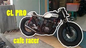 Modifikasi Honda Gl Pro Custom Cafe Racer